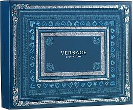 Parfumuri și produse cosmetice Versace Man Eau Fraiche - Set (edt 50ml + sh/gel 50ml + a/sh 50ml)
