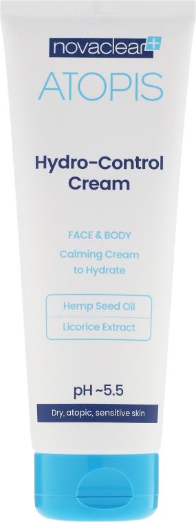 Cremă hidratantă pentru față și corp - Novaclear Atopis Hydro-Control Cream — Imagine N2
