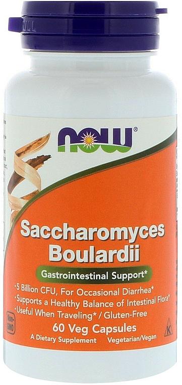 "Capsule ""Saccharomyces Boulardii"" - Now Foods Saccharomyces Boulardii"