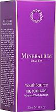 Parfumuri și produse cosmetice Corector facial anti-îmbătrânire - Minerallium Youth Source Age Corrector Advanced Youth Complex