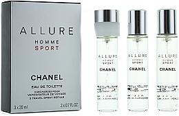 Parfumuri și produse cosmetice Chanel Allure homme Sport - Rezervă pentru apa de toaletă