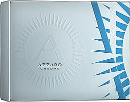 Parfumuri și produse cosmetice Azzaro Chrome - Set (edt/50ml + deo/75ml)