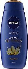 Parfumuri și produse cosmetice Gel de duș - Nivea Oil Pearls Lotus Flower Shower Gel