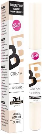 Corector cu efect de reflecție pentru față - Bell BB Cream Lightening 7în1 Eye Concealer