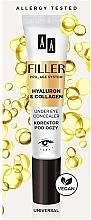 Parfumuri și produse cosmetice Corector pentru ochi - AA Filler Under Eye Concealer