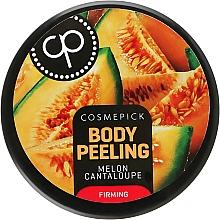 Parfumuri și produse cosmetice Peeling cu aromă de pepene galben suculent pentru elasticitatea corpului - Cosmepick Body Peeling Melon Cantaloupe