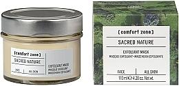 Parfumuri și produse cosmetice Mască iluminantă pentru față - Comfort Zone Sacred Nature Exfoliant Mask