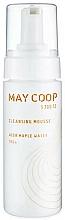 Parfumuri și produse cosmetice Mousse delicat de curățare, cu textura blândă - May Coop Cleansing Mousse Acer Maple Water 100%