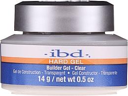 Parfumuri și produse cosmetice Gel de unghii - IBD Hard Gel Builder Gel Clear