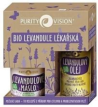 Parfumuri și produse cosmetice Set - Purity Vision Bio Lavender Coffret (oil/120ml + butter/oil/100ml)