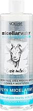 Parfumuri și produse cosmetice Apă micelară - Vollare Goat's Milk Micellar Water Hedra Hyaluron