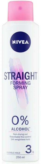 Lac de păr - Nivea Straight Forming Spray — Imagine N1
