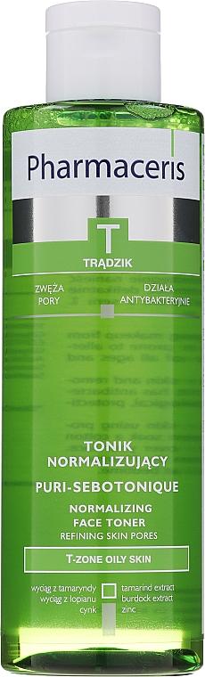 Tonic de curățare pentru ten acneic - Pharmaceris T Puri-Sebotonique Normalizing Toner