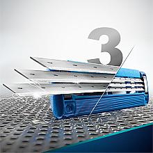 Casete de rezervă pentru aparat de ras - Gillette Mach3 Turbo — Imagine N6