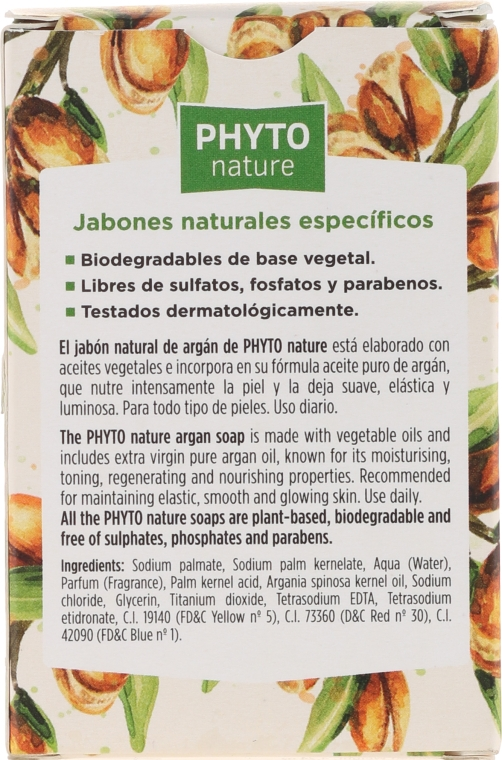 Ulei natural de argan - Luxana Phyto Nature Argan Soap — Imagine N3