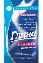 Parfumuri și produse cosmetice Argilă tonifiantă pentru față, albastră - Fitokosmetik