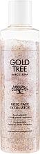 Parfumuri și produse cosmetice Scrub-exfoliator pentru față - Gold Tree Barcelona Rose Face Exfoliation