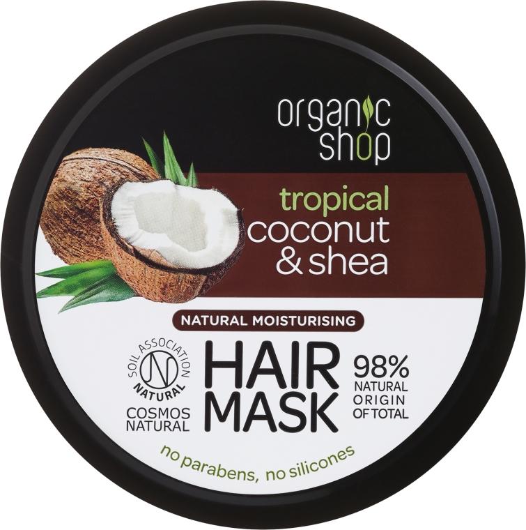 Mască de păr - Organic Shop Coconut & Shea Moisturising Hair Mask