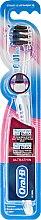 Parfumuri și produse cosmetice Periuță de dinți Extra Soft, albastră - Oral-B Ultrathin Precision Gum Care Black Extra Soft
