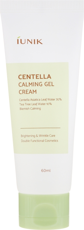 Cremă de față - IUNIK Centella Calming Gel Cream