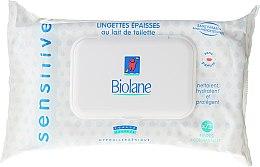 Parfumuri și produse cosmetice Șervețele pentru copiii cu piele sensibilă - Biolane Baby Napkins Sensitive