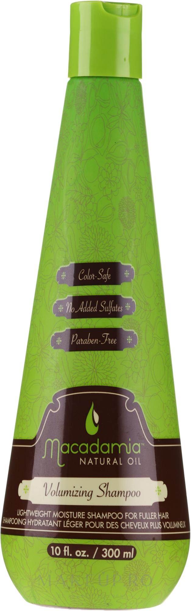 Șampon pentru volum - Macadamia Natural Oil Volumizing Shampoo — Imagine 300 ml