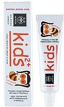 Pastă de dinți pentru copii, cu rodie și propolis - Apivita Healthcare Natural Dental Care Kids 2+ Kids Toothpaste With Pomegranate & Propolis — Imagine N1
