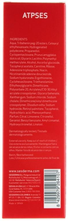 Cremă de față - SesDerma Laboratories Atpses Cell Energizer Cream — Imagine N3