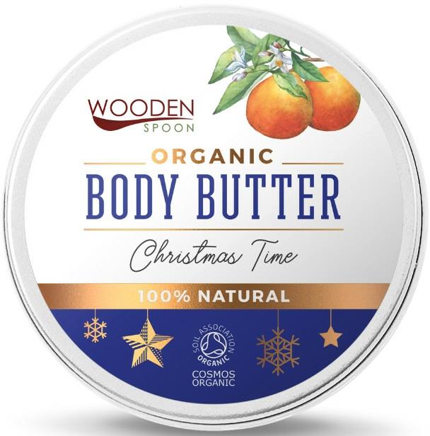 "Ulei de corp ""Crăciun"" - Wooden Spoon Christmas Time Body Butter — Imagine N1"
