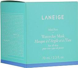 Parfumuri și produse cosmetice Mască de argilă minerală cu apă de mentă - Laneige Mini Pore Waterclay Mask