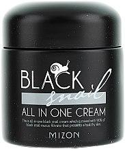 Cremă cu extract de melc negru - Mizon Black Snail All In One Cream  — Imagine N1