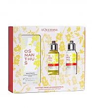 Parfumuri și produse cosmetice Loccitane Osmanthus - Set (edt/75ml + sh/gel/75ml + b/milk/75ml)
