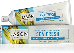 Parfumuri și produse cosmetice Pasta de dinți cu alge marine - Jason Natural Cosmetics Toothpaste Deep Sea Spearmint