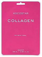 Parfumuri și produse cosmetice Mască anti-îmbătrânire cu colagen, pentru elasticitatea și fermitatea tenului - Kocostar Collagen Mask