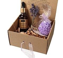 Parfumuri și produse cosmetice Set - LaQ Plum Kernel (oil/30ml + soap/45g)