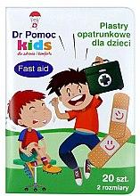 Parfumuri și produse cosmetice Plasture pentru copii - Dr Pomoc Kids Fast Aid Patch
