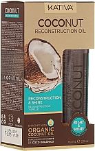 Parfumuri și produse cosmetice Ulei de păr - Kativa Coconut Reconstruction Oil