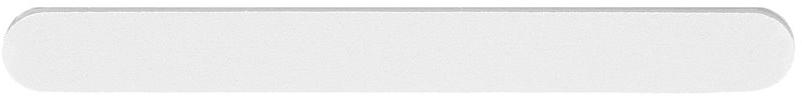 Pilă de unghii, albă, 100/180 - Tools For Beauty Nail File Straight White — Imagine N1