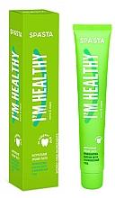 """Parfumuri și produse cosmetice Pastă naturală de dinți """"Prevenirea bolilor gingivale și îngrijirea complexă"""" - Spasta I Am Healthy Toothpaste"""