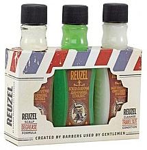 Parfumuri și produse cosmetice Set - Reuzel Degrease Trio Kit (shm/100ml + shm/100ml + cond/100ml)