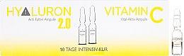 Parfumuri și produse cosmetice Fiole pentru față - Alcina Hyaluron 2.0 & Vitamin C Ampulle
