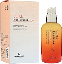 Parfumuri și produse cosmetice Emulsie cu vitamine pentru un ten uniform - The Skin House Vital Bright Emulsion