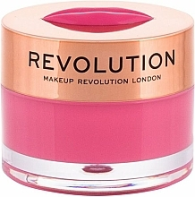 "Parfumuri și produse cosmetice Balsam-mască de buze ""Watermelon Paradise"" - Makeup Revolution Kiss Lip Balm Watermelon Heaven"