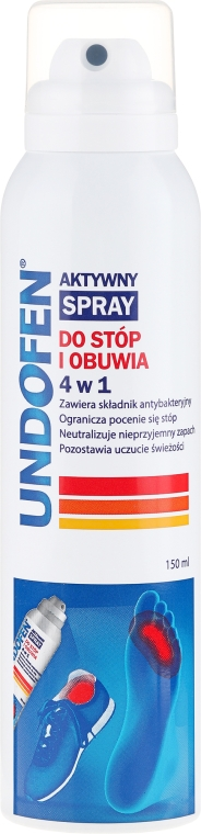 Spray pentru picioare - Undofen Active Foot Spray 4in1