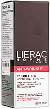Parfumuri și produse cosmetice Fluid cu efect anti-îmbătrânire - Lierac Homme Anti-rides Fluide