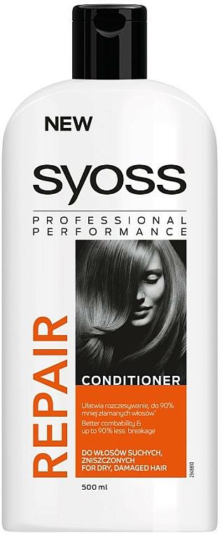 Balsam pentru păr uscat și deteriorat - Syoss Repair Therapy — Imagine N3