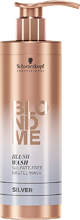 Șampon fără sulfați - Schwarzkopf Professional Blond Me Blush Wash Silver