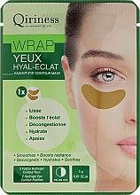 Parfumuri și produse cosmetice Patch-uri antirid pentru conturul ochilor - Qiriness Wrap Yeux Hyal-Eclat Radiant Eye Patches