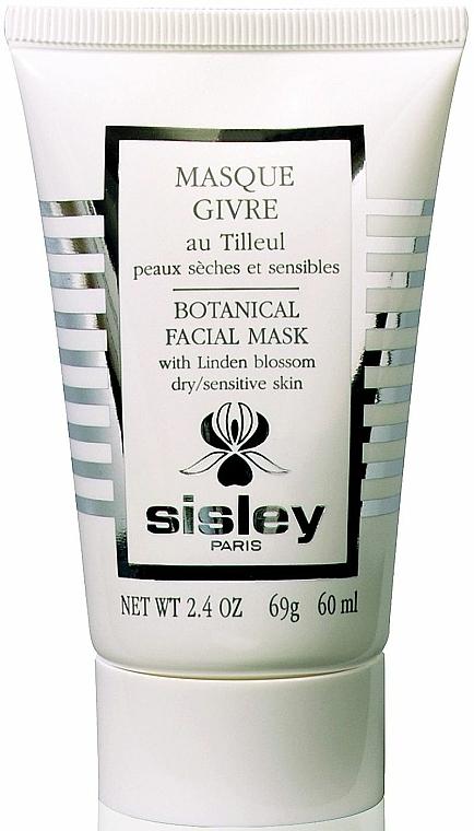 Mască cu tei pentru față - Sisley Botanical Facial Mask With Linden Blossom — Imagine N1