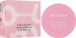 Parfumuri și produse cosmetice Patch-uri sub ochi cu colagen și acid hialuronic - Ayoume Collagen + Hyaluronic Eye Patch